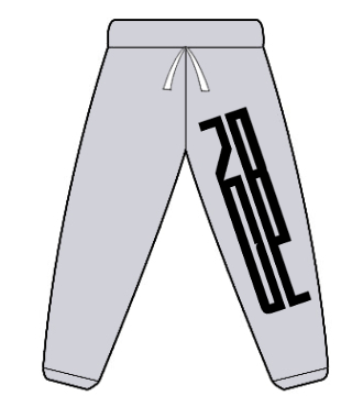 gildan-no-pocket-sweatpant-s18200 gray