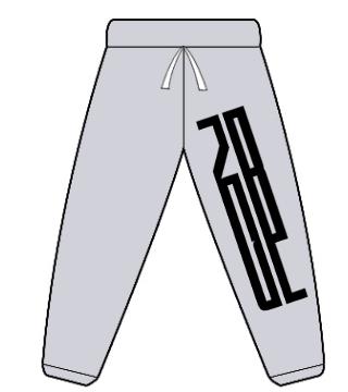 gildan-no-pocket-sweatpant-s18200 gray